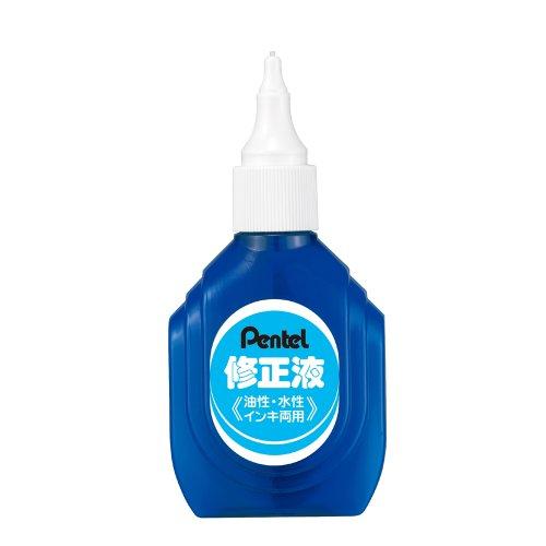 ぺんてる 修正液 油性・水性インキ両用 箱入り ZL1-WK
