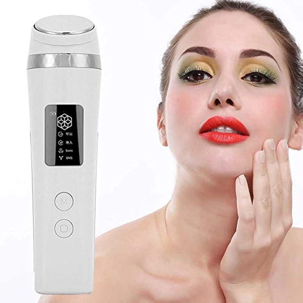 奇跡的なに対応する洗う肌を持ち上げるしわの除去のためのフェイシャルマッサージャー