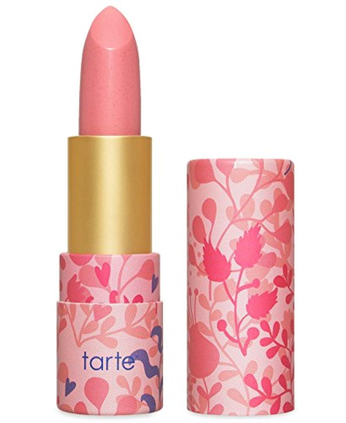 モーションキャリッジ魅惑するTarte Amazonian Butter Lipstick ターテ アマゾニアン バターリップステック Golden Pink [並行輸入品]