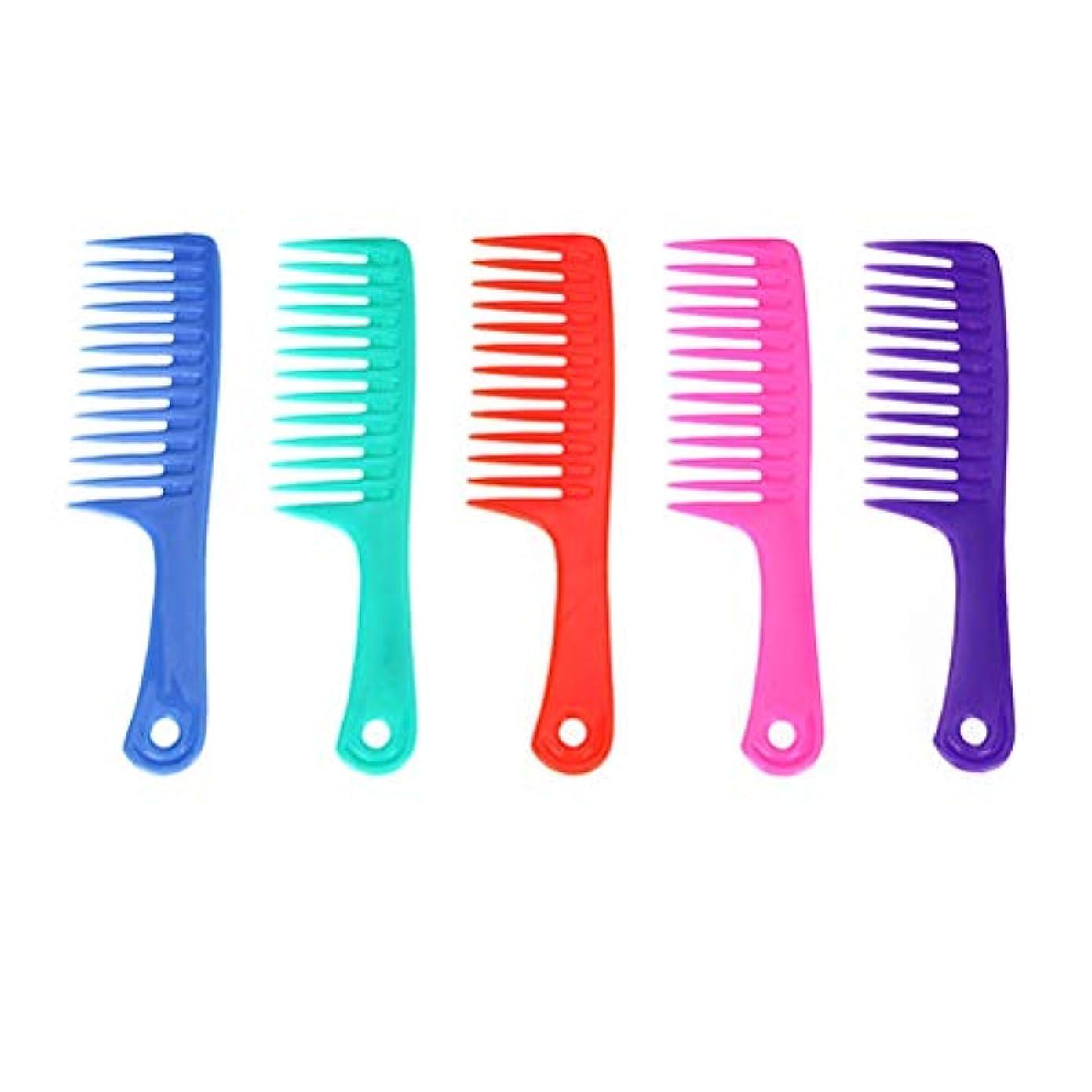 好ましいヶ月目バレエLurrose 5ピースヘア理髪櫛サロンコームかみそり櫛理髪櫛スタイリングヘアコーム