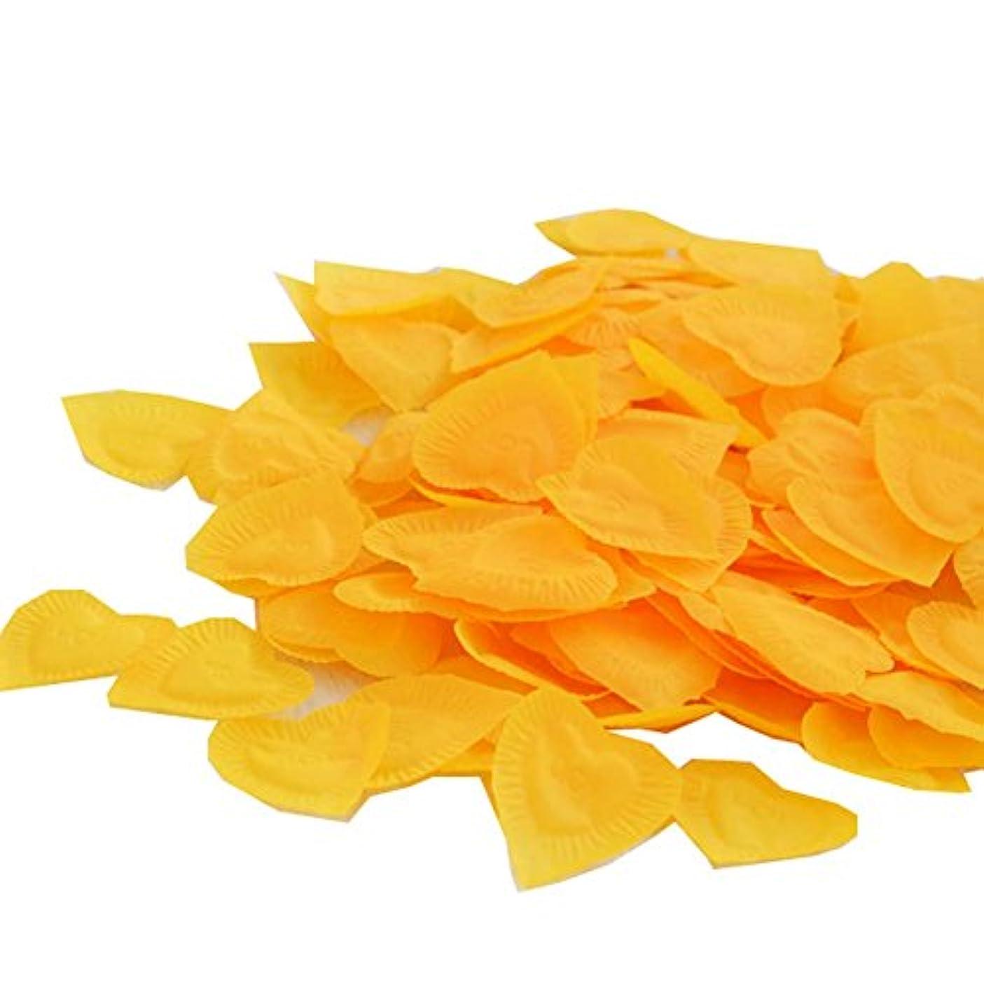 対応狂った物質840の結婚式のための愛のパターン人工ローズフラワーの花びら