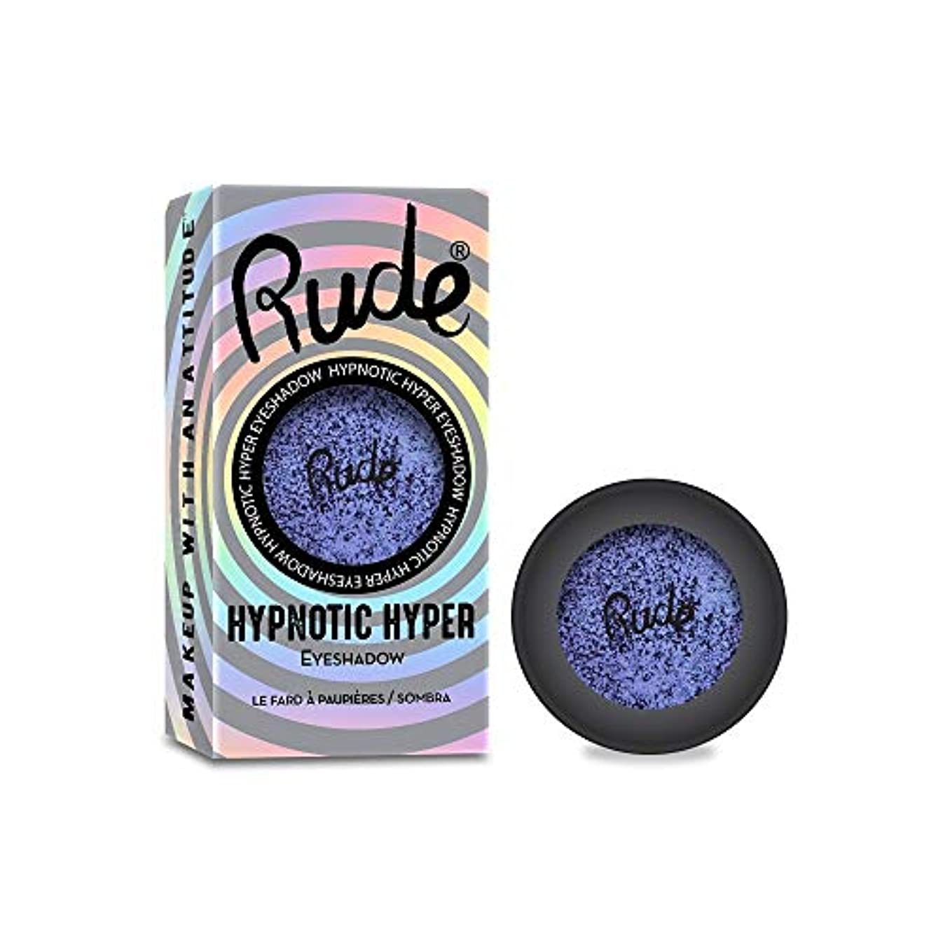 思慮深い計算するミルRUDE Hypnotic Hyper Duo Chrome Eyeshadow - Incognito (並行輸入品)