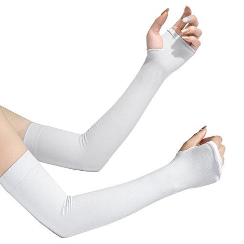 アームカバー 腕カーバ 冷感カーバ 両腕用 UVカット99% UPF50+ 吸汗速乾紫外線対策 冷房対策 軽量 携帯便利 男女兼用