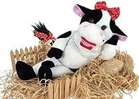 "Chantilly Lane 48cm Bessy Mae Singing Cow Sings ""Besame Mucho"""