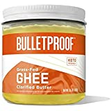 Bulletproof Grass-Fed Ghee, Quality Clarified Butter Fat from Pasture-Raised Cows, Gluten-Free, Non-GMO (13.5 Ounce) Ghee (13