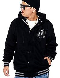 (ディーオーピー) DOP スタジャン メンズ スウェット パーカー フード付 ジャケット 大きいサイズ b系 ストリート系 ファッション