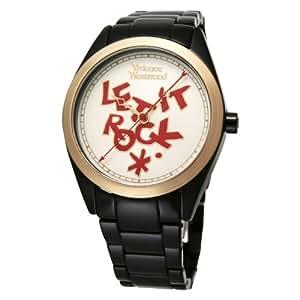 [ヴィヴィアンウエストウッド]Vivienne Westwood 腕時計 VV072GDBK Stpaul,s BKIP ホワイト文字盤 クォーツ レディース VV072GDBK 【並行輸入品】