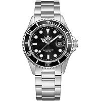 Phoibos Men's PX002C 300M Dive Watch Swiss Quartz Black Sport Watch …
