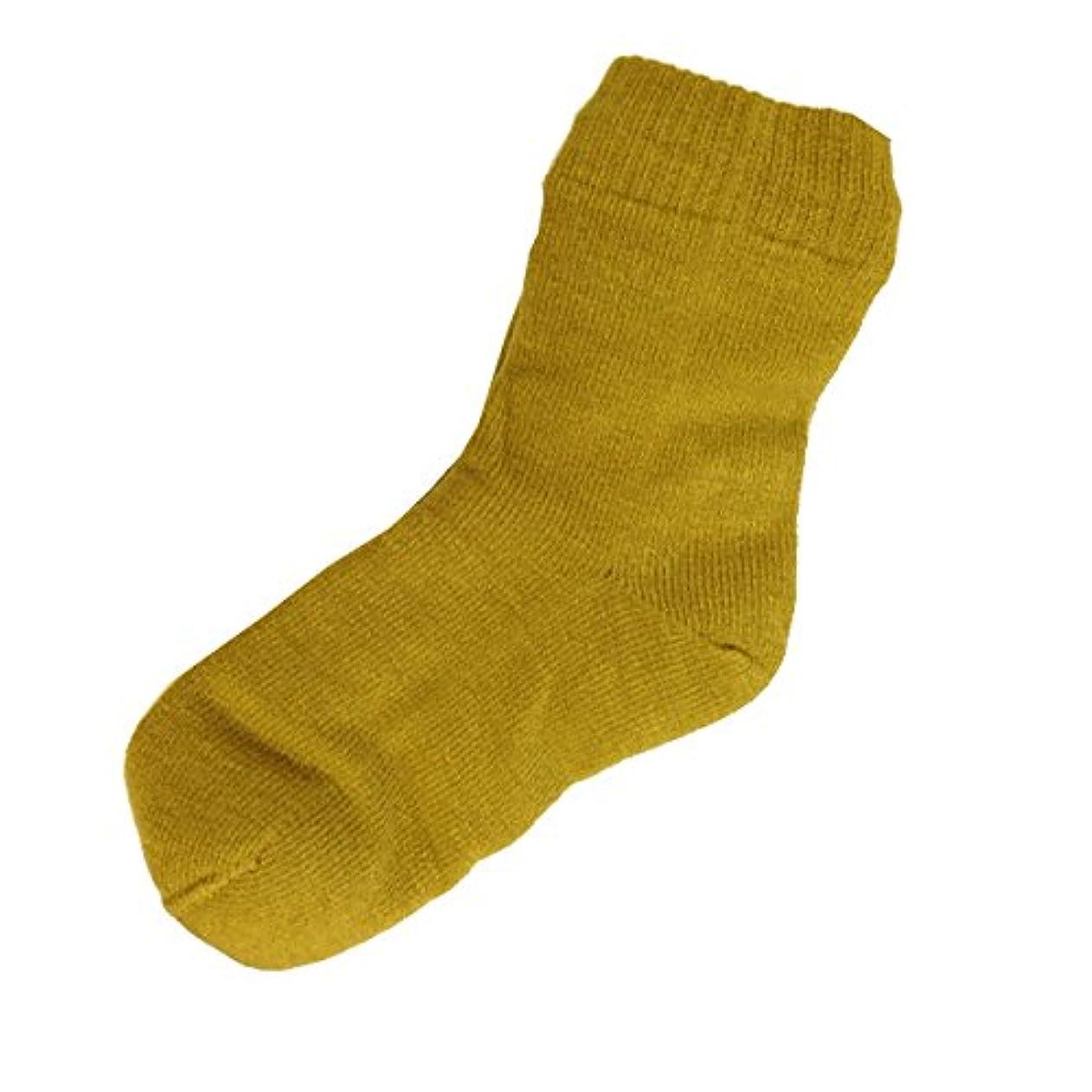ピンポイントライナー社会女性用 カサカサかかと解消靴下 ラブヒール カラシ 【遠赤外線パワー&温熱?保湿効果】