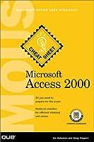 Microsoft Access 2000 Mous Cheat Sheet