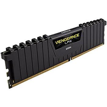 CORSAIR DDR4 デスクトップPC用 メモリモジュール VENGEANCE LPX Series 16GB×2枚キット CMK32GX4M2A2666C16