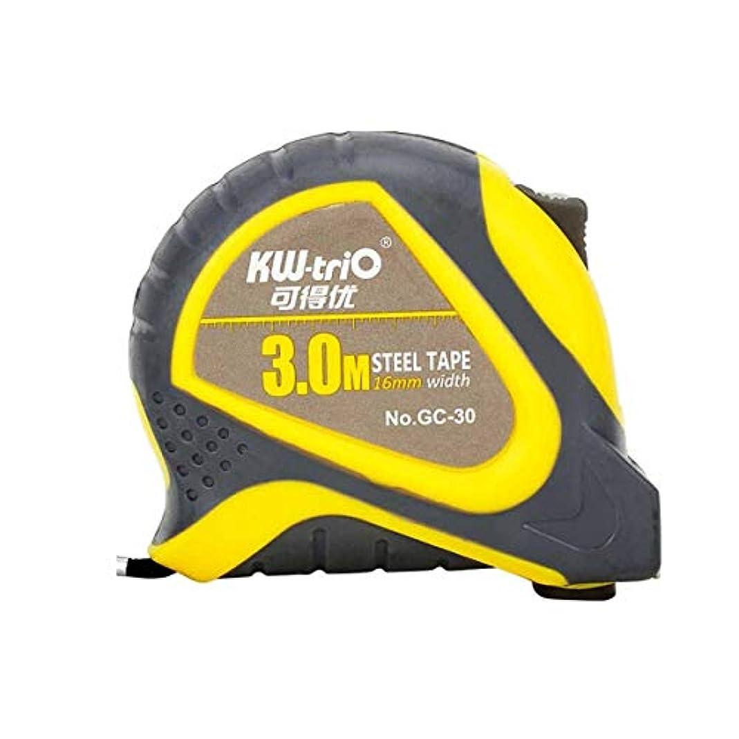 輸送反逆者流XHYRB スチール巻尺、測定テープ、ダブルスケール磁気ヘッドダブルブレーキストリップ プロの巻尺 (Size : 5m*19mm)