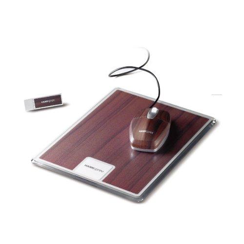 ハンスプリージャパン Hannspree マウス マウスパッド USBメモリーセット