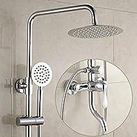 シャワーセット - 3スピードシャワーセット - ホット&コールド銅ベルトリフティング - ハンドヘルドウォールマウント - あなたの家にスパを連れて - 家族やホテルに適しています