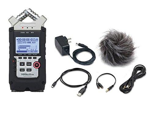 ZOOM ハンディーレコーダー H4nPro + 純正アクセサリーパック「APH-4nPRO」セット