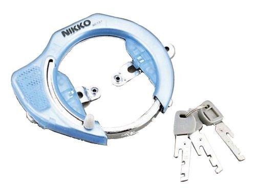 ニッコー(NIKKO) スケルトンリングロック NC-101 ブルー