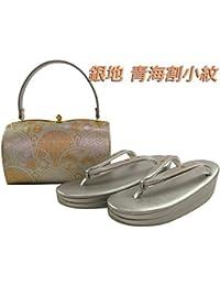 金鷲本舗 礼装用 金彩 草履バッグセット M?Lサイズ sr-109