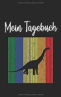 Mein Tagebuch: Dino Dinosaurier Retro und Vintage Style 100 Seiten Liniert