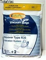 5Hoover r30アレルギー真空バッグ+ 2フィルタ、キャニスター掃除機、40101002、s1361、タイプr30バッグ