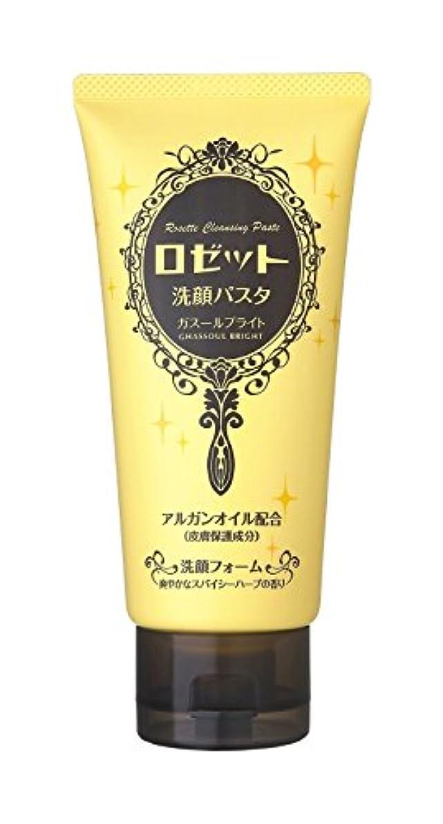 宝石フルート素晴らしいロゼット 洗顔パスタ ガスールブライト 120g
