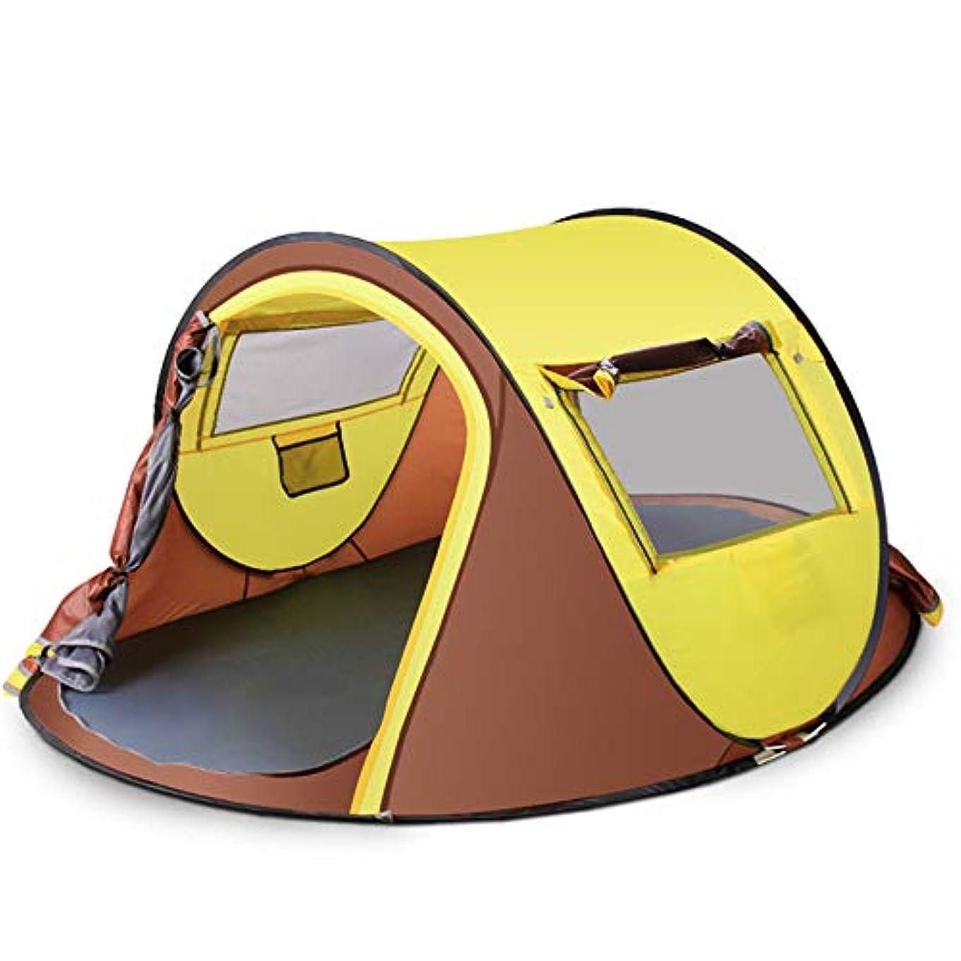 効能スタウトライターポップアップテント、ポータブルビーチテント、防水キャンプテント、家族の庭/キャンプ/釣り/ビーチに適した屋外サンシェルターUV保護