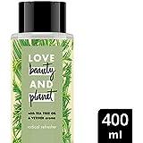 Love Beauty And Planet Shampoo Tea Tree Oil & Vetiver, 400ml