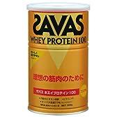ザバス(SAVAS) ホエイプロテイン100 ココア味 360g