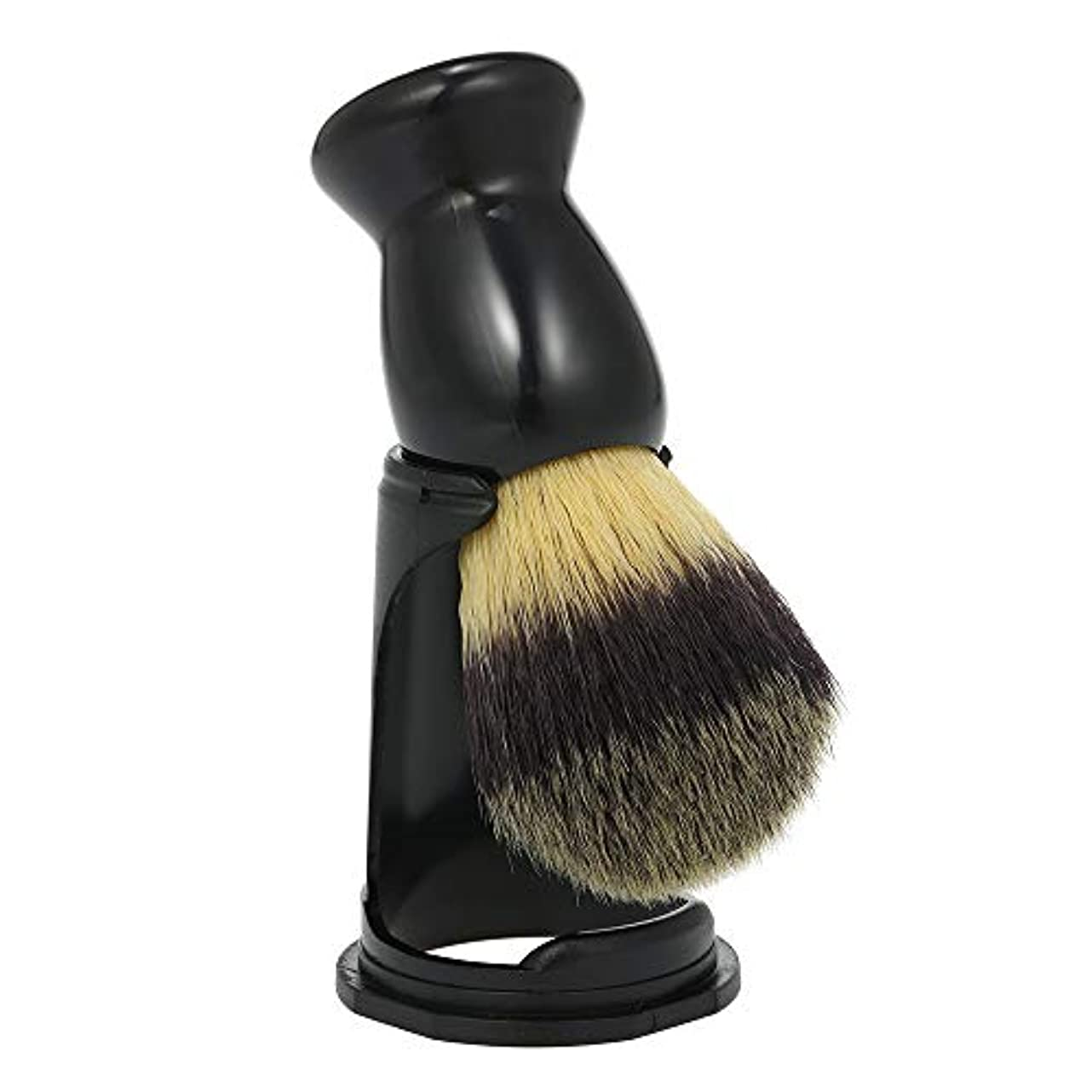 Decdeal ひげブラシ メンズ 髭剃り シェービングブラシ ホルダー スタンド&ブラシ シェービングツール