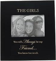 The Girlsフォトフレーム–Funny友情ギフトレディース 9.5 Inches X 10 Inches ブラック 3015-LB