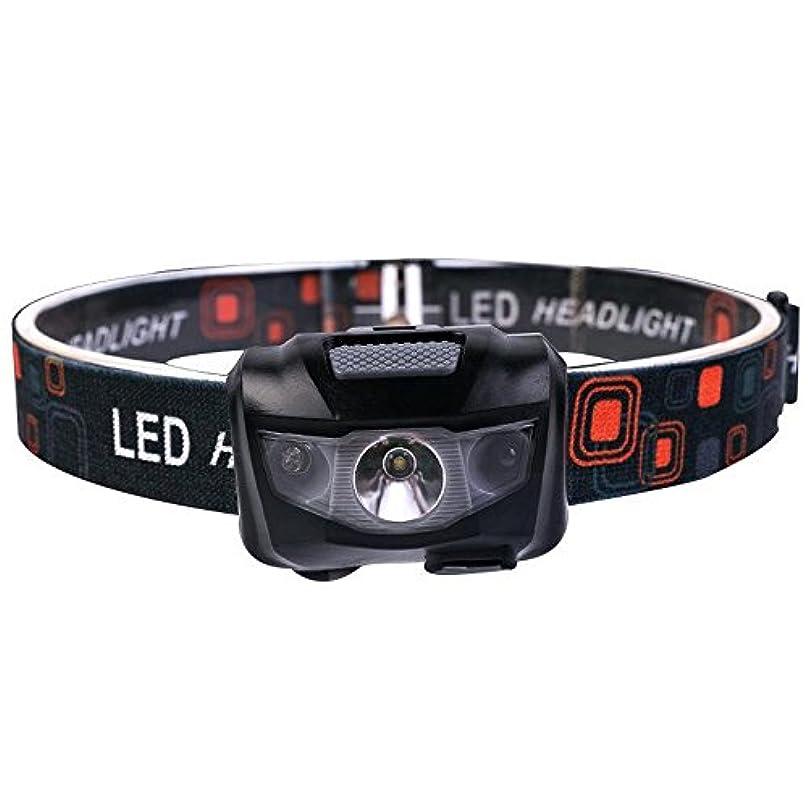 除去崖僕のLEDヘッドライト 充電式 センサー機能付け 3モード 防水 角度調節 高輝度 軽量 電池内蔵 ハイキング/夜釣り/作業/自転車/キャンプに最適 yougheny