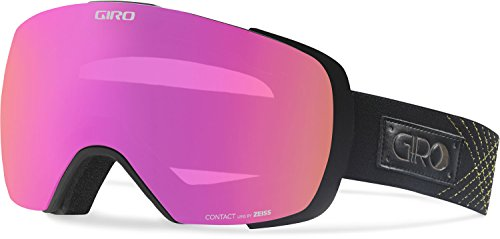 GIRO(ジロ) スキー・スノーボードゴーグル アジアンフィット CONTACT BLACK/GOLD STELLAR 【日本正規品】 7071256