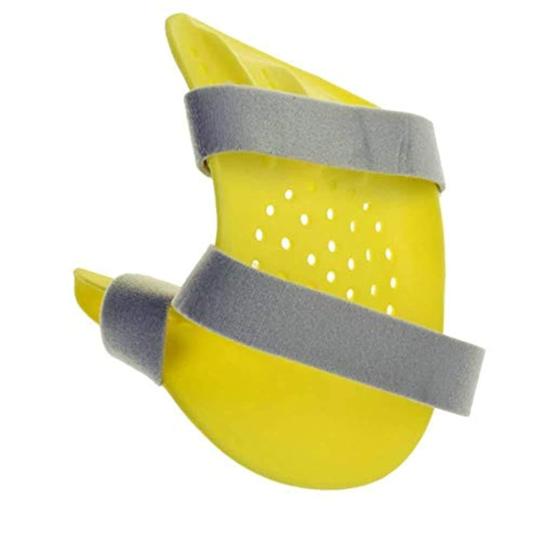 発症ブル賛辞関節炎脳卒中片麻痺リハビリテーションのための指の添え木、セパレーター矯正器、ハンドリストトレーニング装具装具サポート (Color : Right)