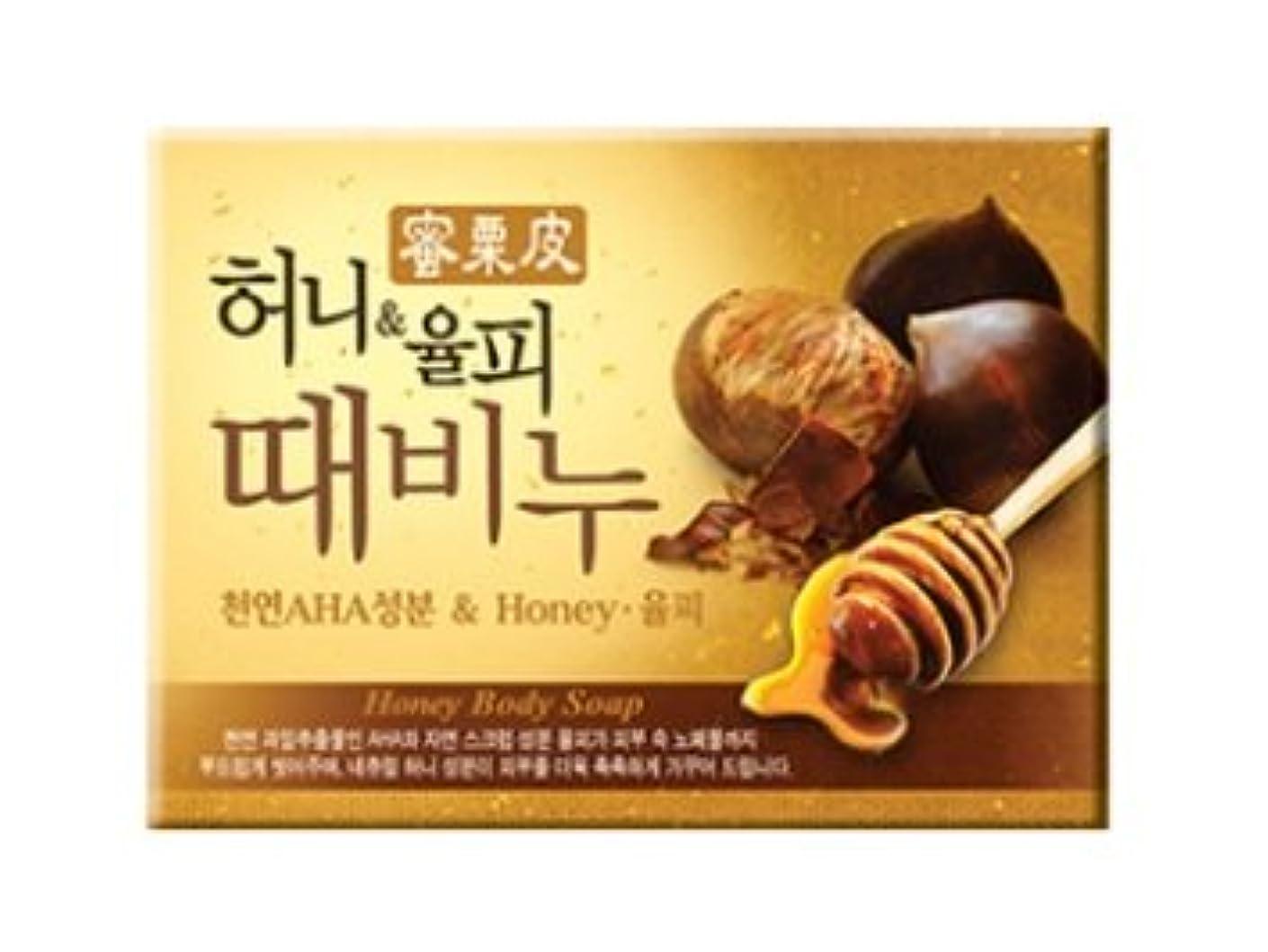 あそこ家庭解任ハニー栗皮 ソープ 100g / Honey Body Soap [並行輸入品]