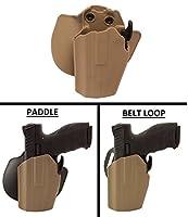 Ultimate Arms GearホルスターGrand電源p11p40grip-locking multi-fit標準フレームパドル&ベルトLeft Hand , Flat Dark Earth