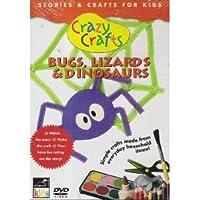 Crazy Crafts Bugs Lizards & Dinosaurs [DVD]