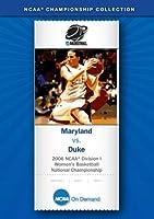 2006 NCAA(r) Division I Women's Basketball - Maryland vs. Duke [並行輸入品]