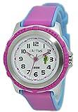 [カクタス] CACTUS 腕時計 クオーツ キッズ CAC-78-M55 ホワイト/ピンク [国内正規]