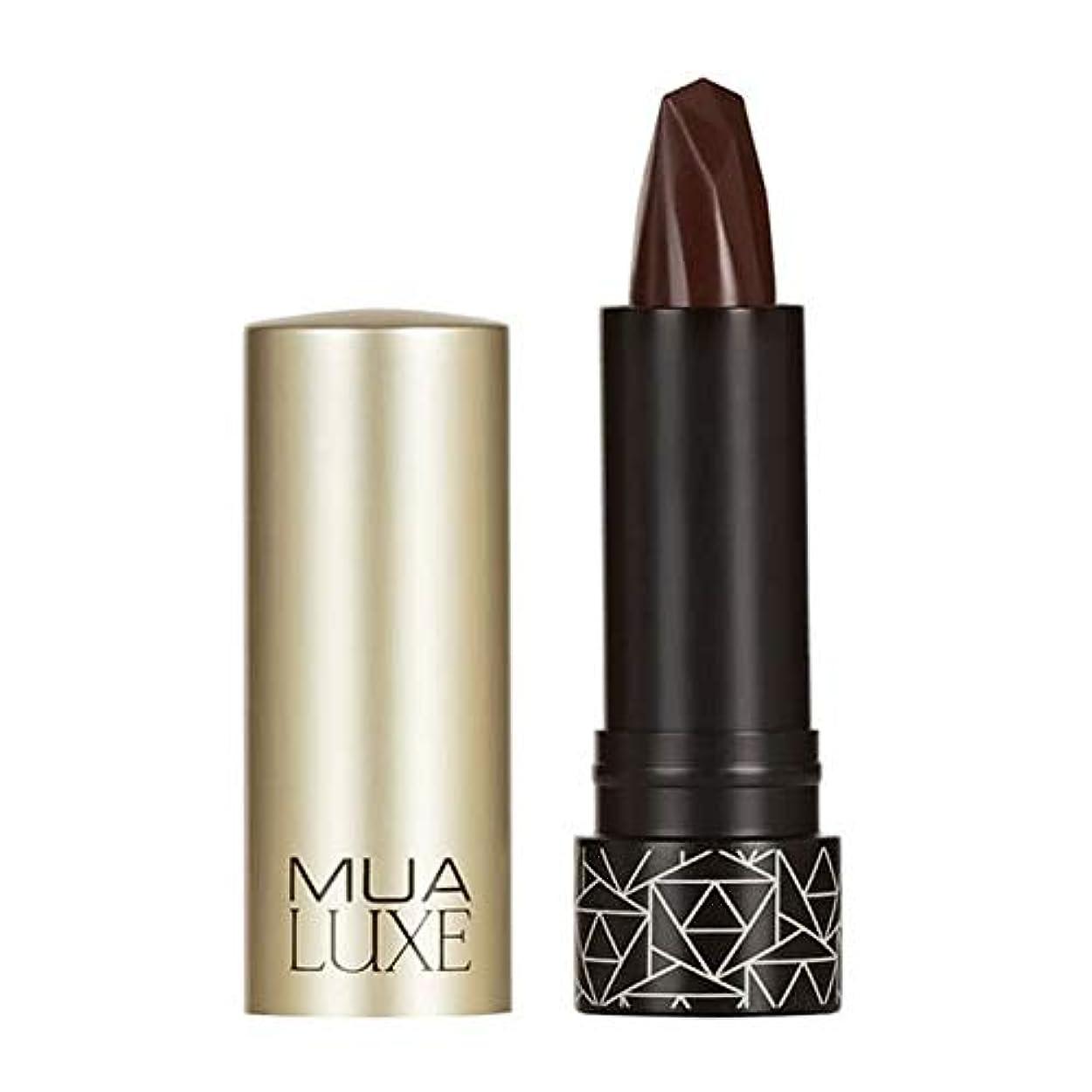 騒特派員乳[MUA] Muaラックスベルベットマットリップスティック#1 - MUA Luxe Velvet Matte Lipstick #1 [並行輸入品]