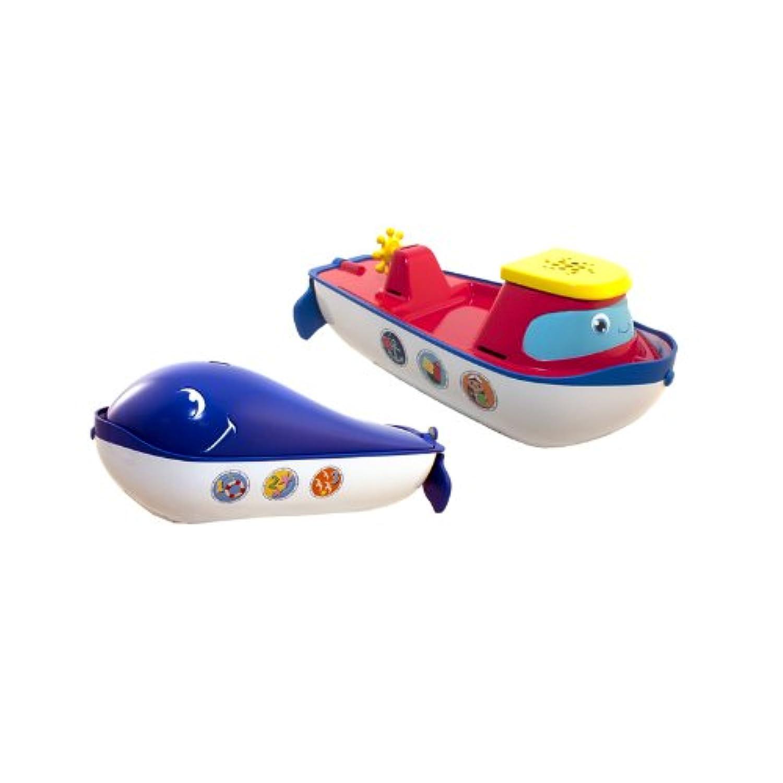 SwimWays Flip Float Whale Tugboat by SwimWays [並行輸入品]