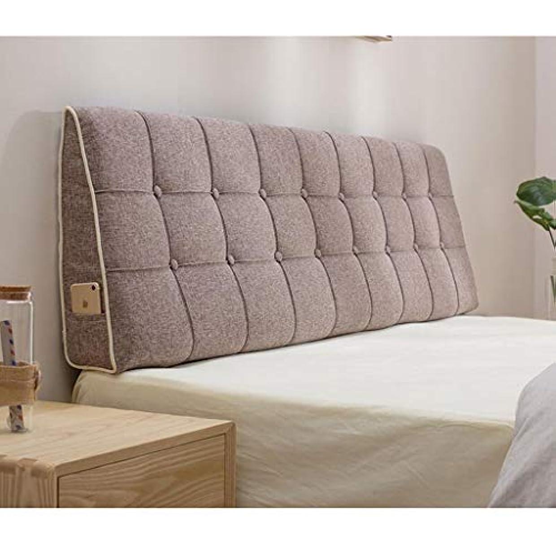 飛躍荒らす知り合いベッドサイドクッションフルふわふわベッド枕大きなバッククッションダブルウエストクッションマルチサイズオプション Zsetop (Color : C, Size : 180*50cm)