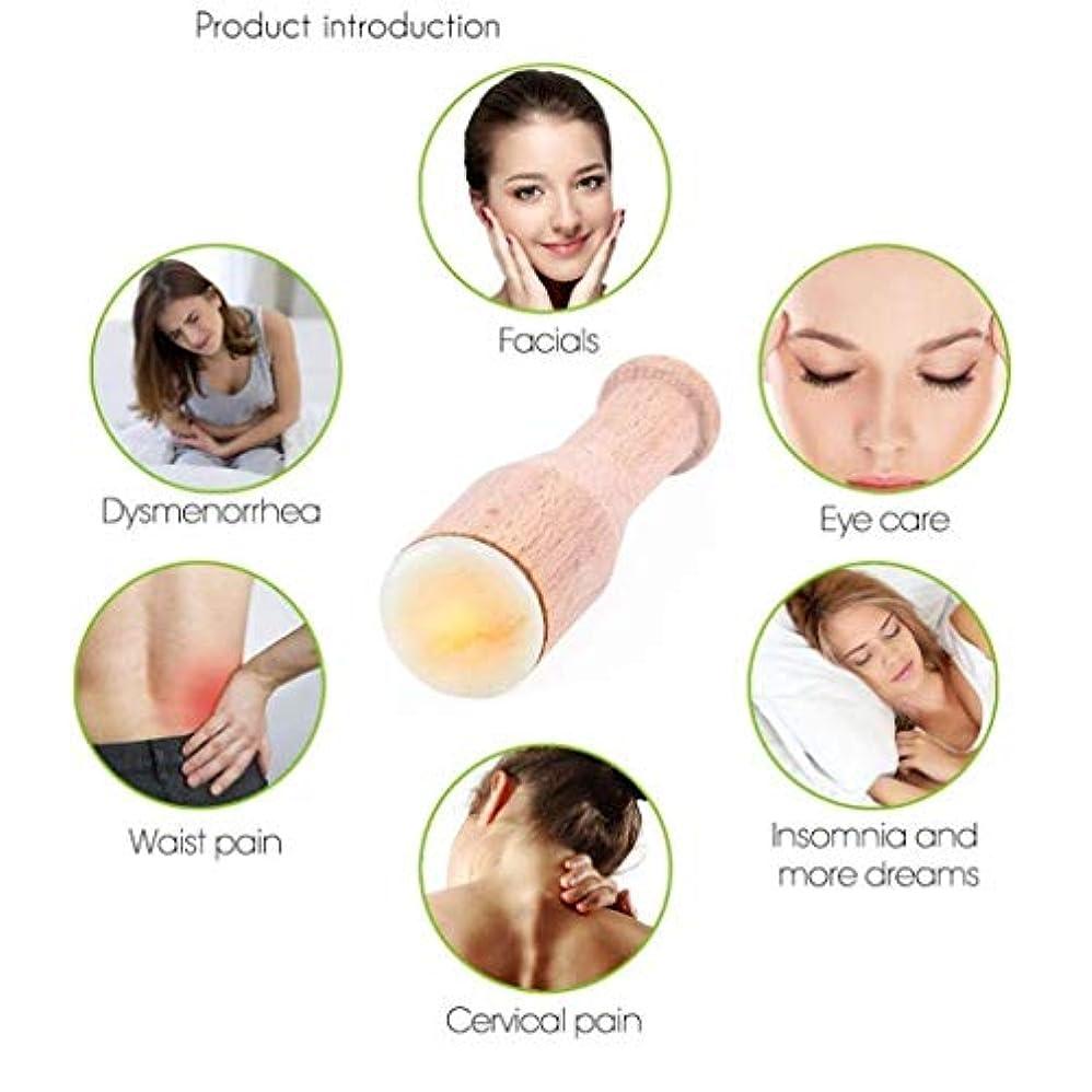 ナイロン接続このマッサージャー、恒温ホットコンプレッション美容機器、目、顔、背中、胃と体の鍼治療のポイント、肌を引き締め、しわを減らす
