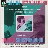 Galina Ustvolskaya: Octet; Shostakovich : Piano Quintet (Conifer)