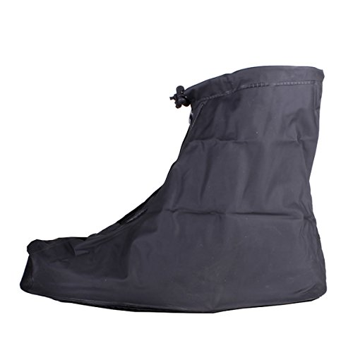 ZooooM 豪雨 対策 シューズ ガード 靴 バイク スクーター 雨 具 カッパ 台風 足 防滴 浸水 ゲリラ 災害 水たまり レイン コート 梅雨 天候 クツ オシャレ お洒落 ファッション 仕事 作業 ワーク (XLサイズ) ZM-AMESITA-XL