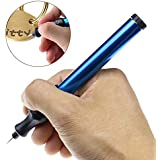 Electric Engraving Engraver Pen Carve Tool for Jewellery Metal Glass with Replaceable Diamond Tip Bit
