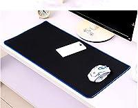huasen 1pcホームオフィスLargeポータブルゴム拡張ゲームキーボードマウスパッド