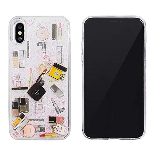 0276d570a4 【design mobile】 iPhone XR ケース コスメミルキーピンク 「パフューム」 シリコン カバー TPU