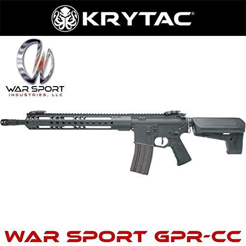 (クライタック)KRYTAC電動ガン本体 WAR SPORT GPR-CC BK(ブラック)
