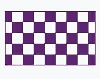 【gus-007-09】給油口専用カッティングステッカー チェック柄【紫】