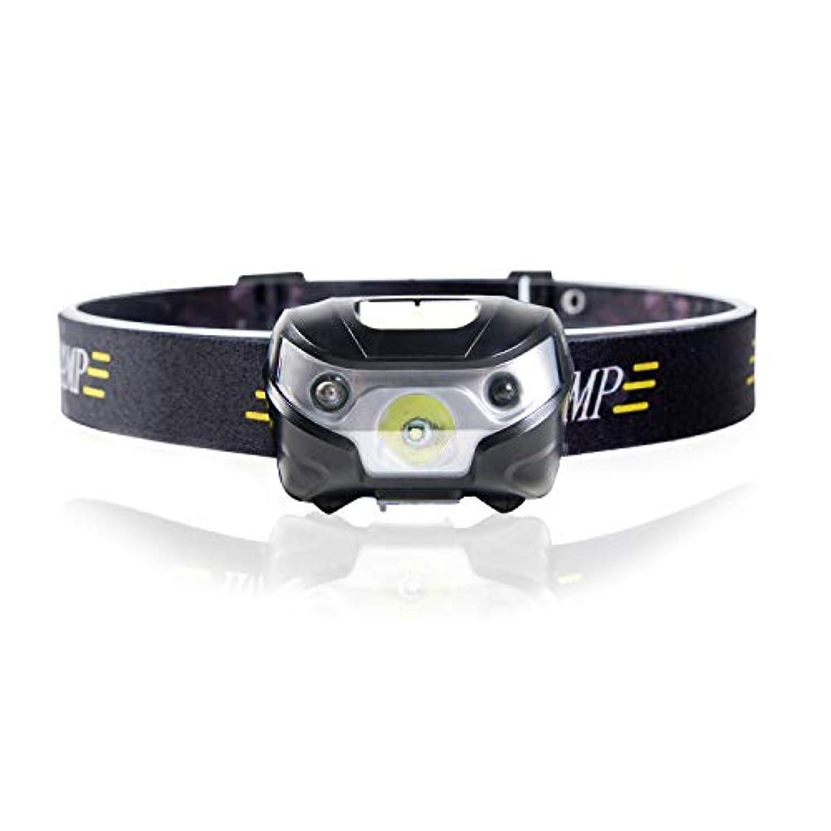 グリーンランド診療所トラブルChamsaler ヘッドライト USB充電式 LED センサー感応機能 コンパクト 自由に角度を調整 ヘッドランプ 最高照度 防水 アウトドアライト 小型軽量 夜釣り ハイキング キャンプ サイクリング 登山 防災 非常時用