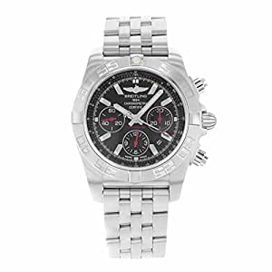 Breitling Chronomat automatic-self-wind Mens Watch ab011110-ba50ss (認定pre-owned )